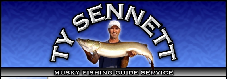 Hayward Wisconsin Muskie Fishing the Chippewa Flowage with Ty Sennett Musky Guide and Fishing Tackle Service